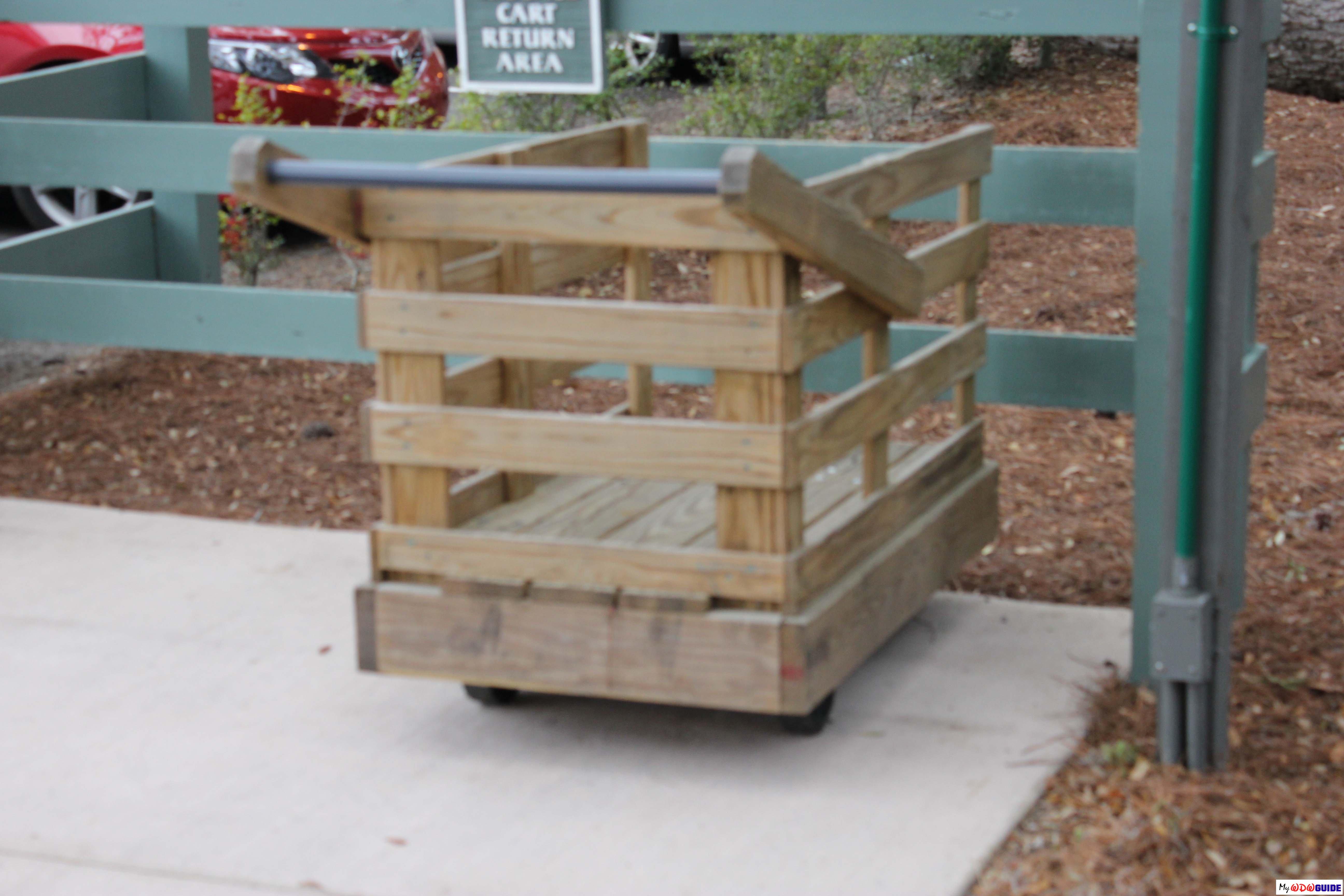 Disney Hilton Head Resort - DVC - Luggage Cart