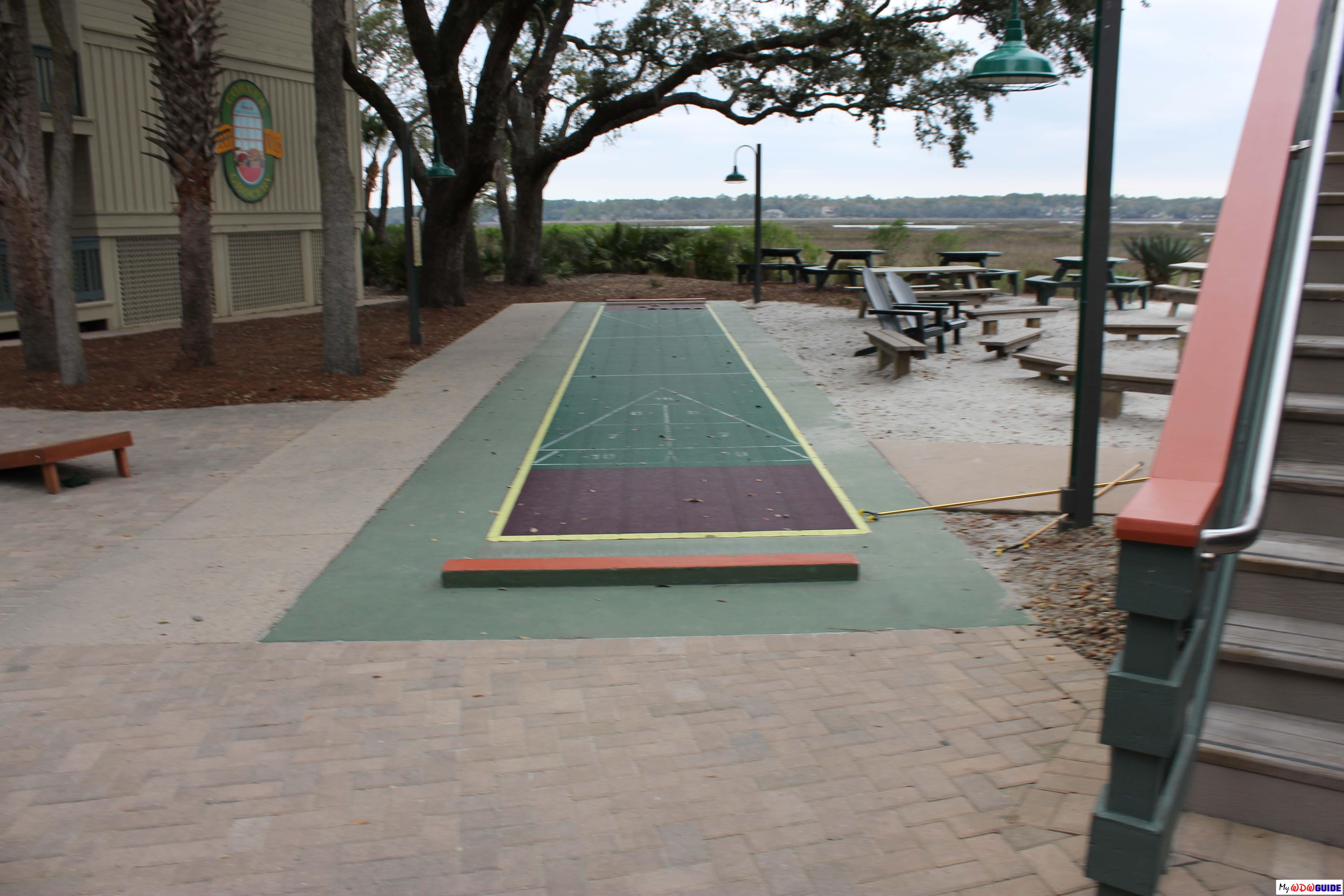 Disney Hilton Head Resort - DVC - Shuffle Board