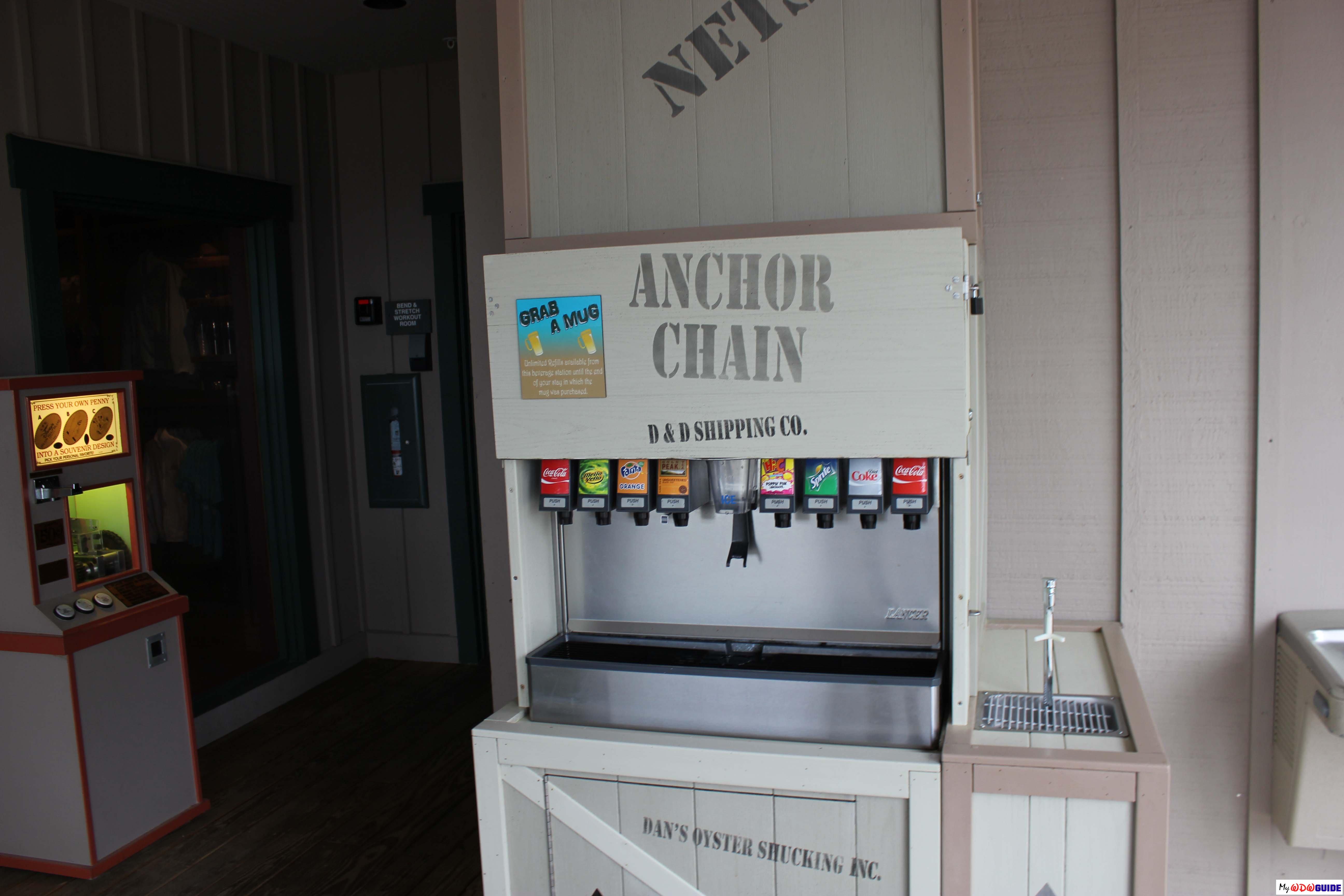 Disney Hilton Head Resort - DVC - Soft Drinks